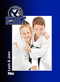 Martial Arts Blue - Front